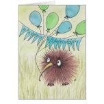 Cumpleaños del pájaro del kiwi feliz tarjeta de felicitación