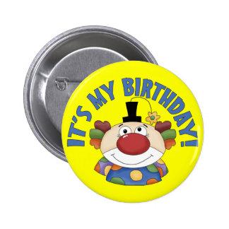 Cumpleaños del payaso pin