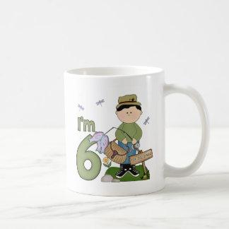 Cumpleaños del pescador de Lil 6to Taza De Café