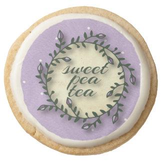 Cumpleaños del té del guisante de olor - lunar