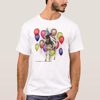 Cumpleaños del tema de la vaca playera
