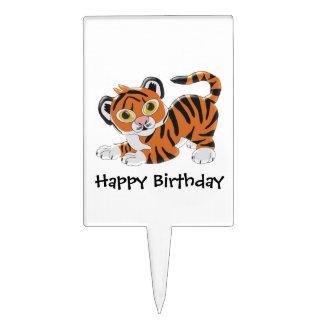 Cumpleaños del tigre decoraciones de tartas