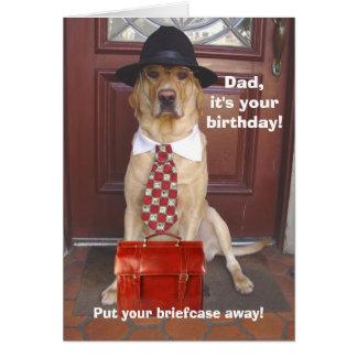 Cumpleaños del varón/del papá tarjeta de felicitación