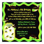 Cumpleaños divertido de la luciérnaga invitación 13,3 cm x 13,3cm