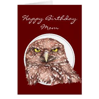Cumpleaños divertido de la mamá del personalizar m tarjeta de felicitación