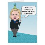 Cumpleaños divertido de los correos electrónicos tarjeta de felicitación