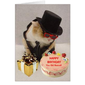Cumpleaños divertido personalizado tarjeta de felicitación