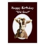 Cumpleaños divertido sobre el viejo humor de la ca felicitacion