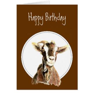 Cumpleaños divertido, sobre la colina, viejo humor tarjeta de felicitación