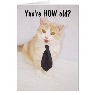 Cumpleaños divertido tarjeta de felicitación