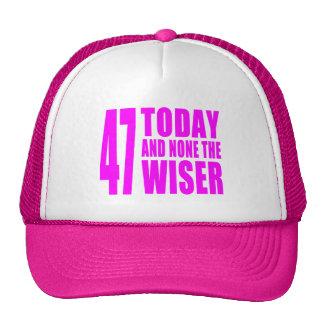 Cumpleaños divertidos 47 hoy y ningunos de los chi gorros