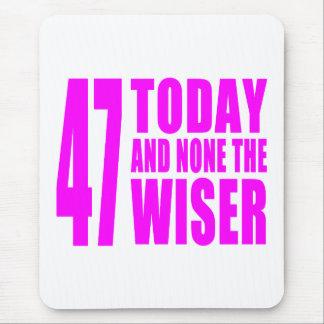 Cumpleaños divertidos 47 hoy y ningunos de los chi tapete de raton
