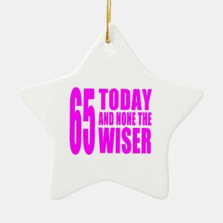 Cumpleaños divertidos 65 hoy y ningunos de los ornamento de navidad