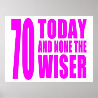 Cumpleaños divertidos 70 hoy y ningunos de los chi impresiones