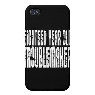 Cumpleaños divertidos: Perturbador de dieciocho añ iPhone 4 Cárcasas