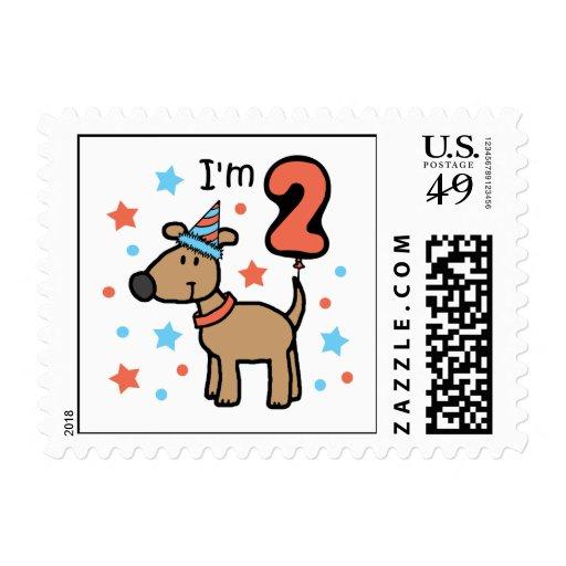 Cumpleaños dos del perro envio