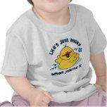 Cumpleaños Ducky de la vida el 1r Camisetas
