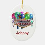 Cumpleaños en el ornamento fabuloso de Las Vegas Ornamentos De Reyes Magos