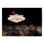 Cumpleaños en la tarjeta fabulosa de Las Vegas