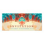 Cumpleaños exótico del batik/ocasión especial anuncios personalizados