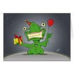 Cumpleaños extranjero - tarjeta de felicitación di