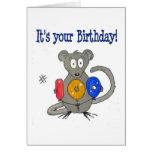 Cumpleaños feliz 100 del ratón tarjeta