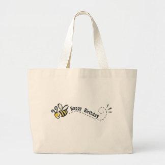 ¡Cumpleaños feliz de la abeja! Bolsas