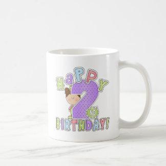 Cumpleaños feliz de los chicas 2do taza