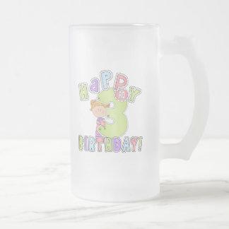 Cumpleaños feliz de los chicas 3ro tazas