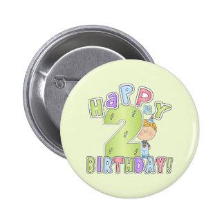Cumpleaños feliz de los muchachos 2do pin