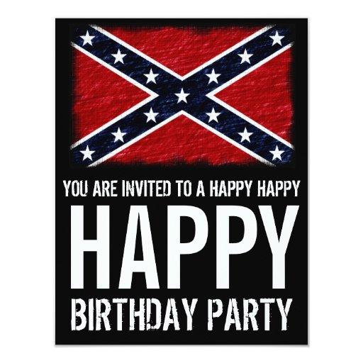 Cumpleaños feliz feliz del campesino sureño divert comunicado