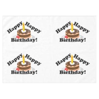 ¡Cumpleaños feliz, feliz! Mantel