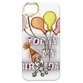 Cumpleaños Funda Para iPhone 5 Barely There