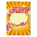 Cumpleaños-general feliz felicitación
