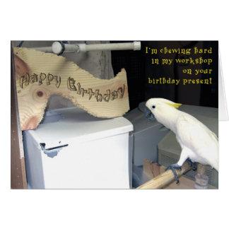 Cumpleaños Hardwork Tarjeta De Felicitación