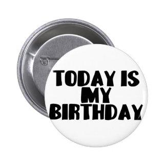Cumpleaños hoy pin