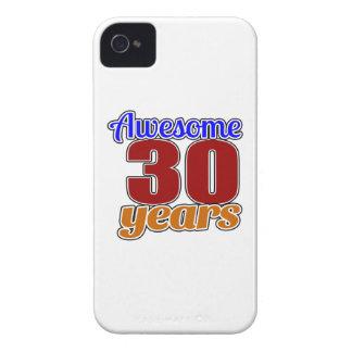 Cumpleaños impresionante 30 iPhone 4 carcasas