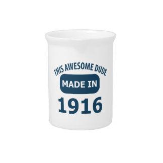 Cumpleaños impresionante de 99 años jarra para bebida
