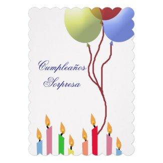 Cumpleaños - invitación