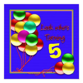 Cumpleaños - (invitación de la EDAD del PARTE