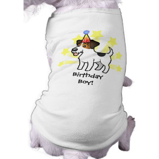 Cumpleaños Jack Russell Terrier Playera Sin Mangas Para Perro