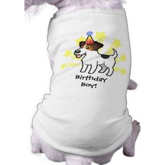 Cumpleaños Jack Russell Terrier Camiseta De Perrito
