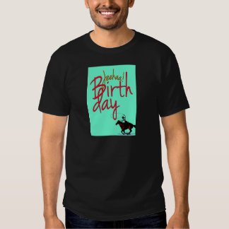 Cumpleaños JeeHaa del vaquero Playera