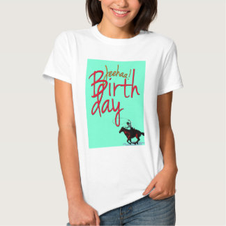 Cumpleaños JeeHaa del vaquero Poleras
