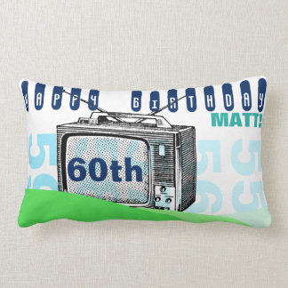 Cumpleaños L almohada del ejemplo TV 60.a del