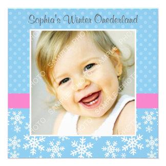 Cumpleaños lindo de la foto de Onederland del invi Comunicados Personales