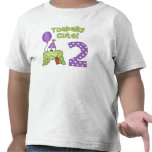 Cumpleaños lindo de Toadally 2do Camiseta