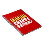 Cumpleaños malo cuadernos