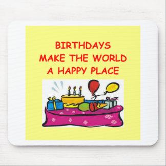 cumpleaños mousepads