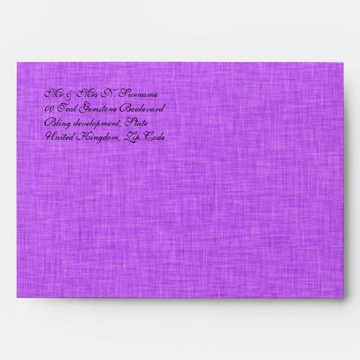 Cumpleaños negro rosado del boda del damasco sobres